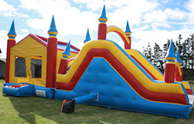 SLIDE BOUNCY CASTLES